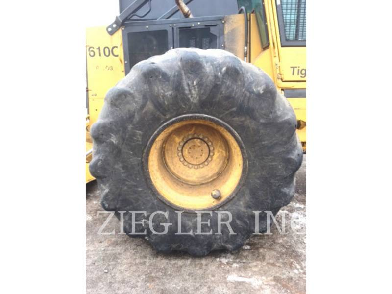 TIGERCAT SILVICULTURĂ – EXCAVATOR FORESTIER 610 C equipment  photo 15