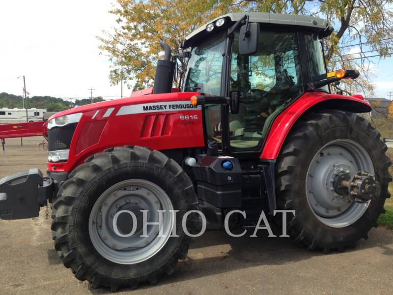 AGCO-MASSEY FERGUSON TRACTEURS AGRICOLES MF6616 equipment  photo 1