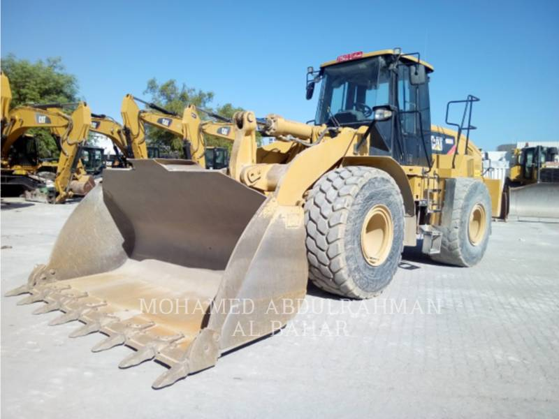 CATERPILLAR PALE GOMMATE/PALE GOMMATE MULTIUSO 966 H equipment  photo 1
