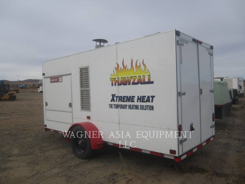 GROUND HEATERS INC HVAC: HEATING, VENTILATION, AND AIR CONDITIONING THAWZALL XH850 equipment  photo 1