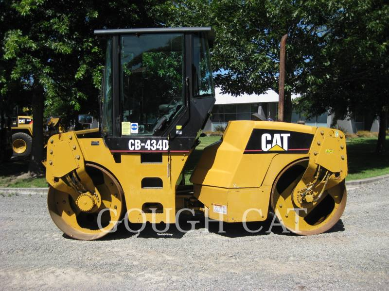 CATERPILLAR VIBRATORY DOUBLE DRUM ASPHALT CB-434D equipment  photo 5