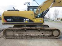 CATERPILLAR PELLES SUR CHAINES 320D equipment  photo 9