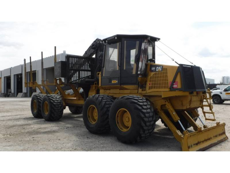 CATERPILLAR FORSTWIRTSCHAFT - FORWARDER 584HD equipment  photo 2