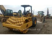 CATERPILLAR COMPACTEUR VIBRANT, MONOCYLINDRE À PIEDS DAMEURS CP-533E equipment  photo 1