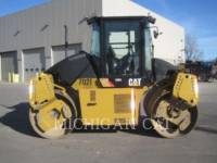 CATERPILLAR VIBRATORY DOUBLE DRUM ASPHALT CD54 equipment  photo 4