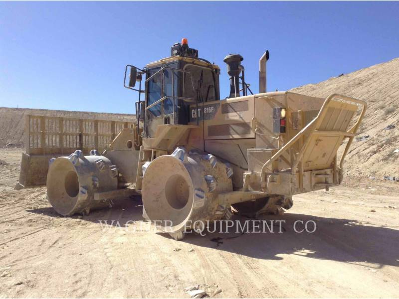 CATERPILLAR WHEEL LOADERS/INTEGRATED TOOLCARRIERS 816F2 equipment  photo 4