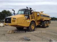 Equipment photo CATERPILLAR 730C WT WAGON CITERNE A EAU 1