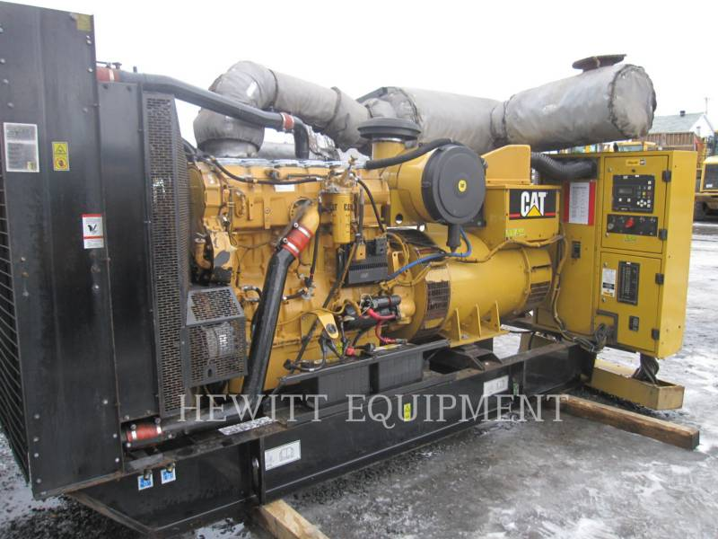 CATERPILLAR STATIONARY GENERATOR SETS C15, 454KW PRIME 480V equipment  photo 2