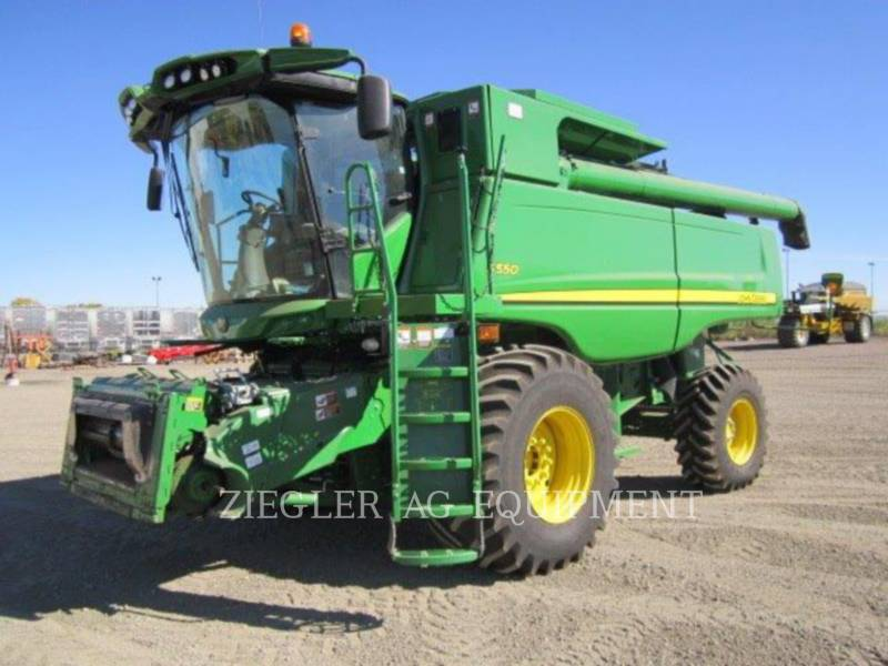 DEERE & CO. COMBINADOS S550 equipment  photo 4
