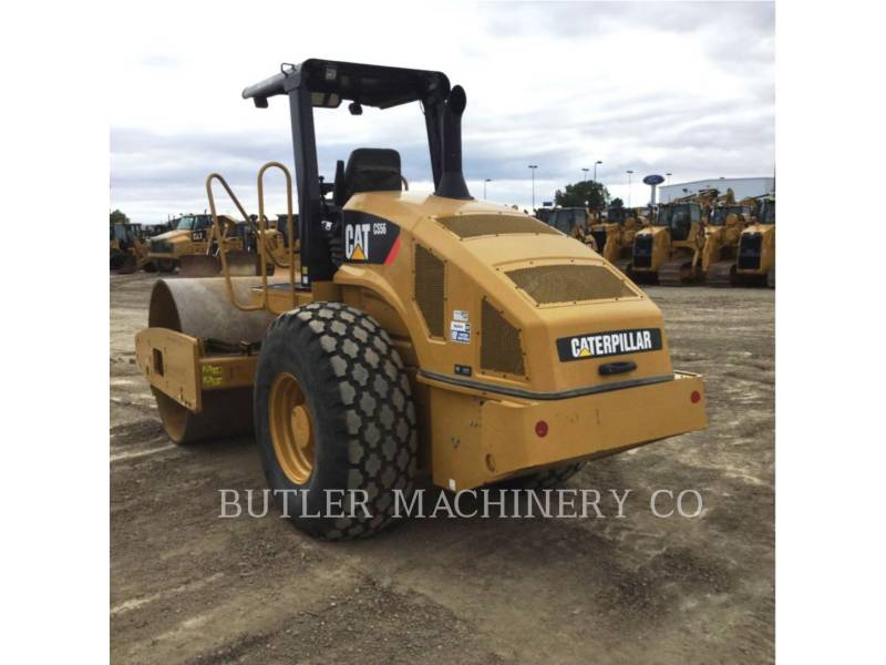 CATERPILLAR COMPACTEUR VIBRANT, MONOCYLINDRE LISSE CS56 equipment  photo 3