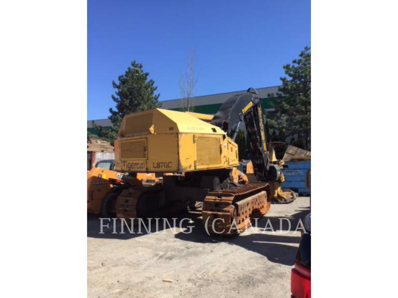 TIGERCAT FORESTRY - FELLER BUNCHERS - TRACK L870C equipment  photo 4