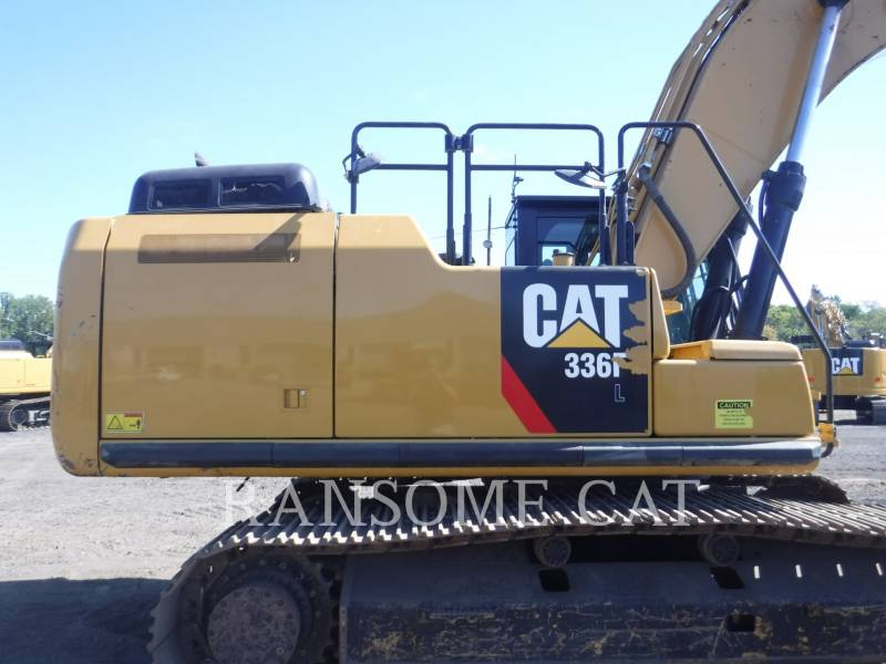 CATERPILLAR TRACK EXCAVATORS 336FL equipment  photo 9