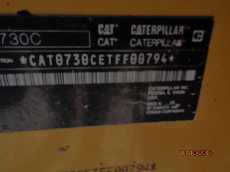 Caterpillar CAMIOANE ARTICULATE 730C equipment  photo 21