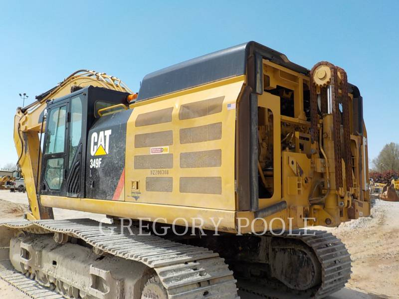 CATERPILLAR TRACK EXCAVATORS 349F L equipment  photo 8