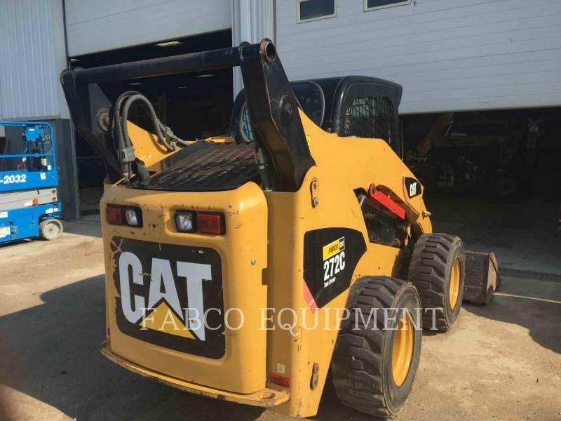 CATERPILLAR MINICARREGADEIRAS 272C equipment  photo 5