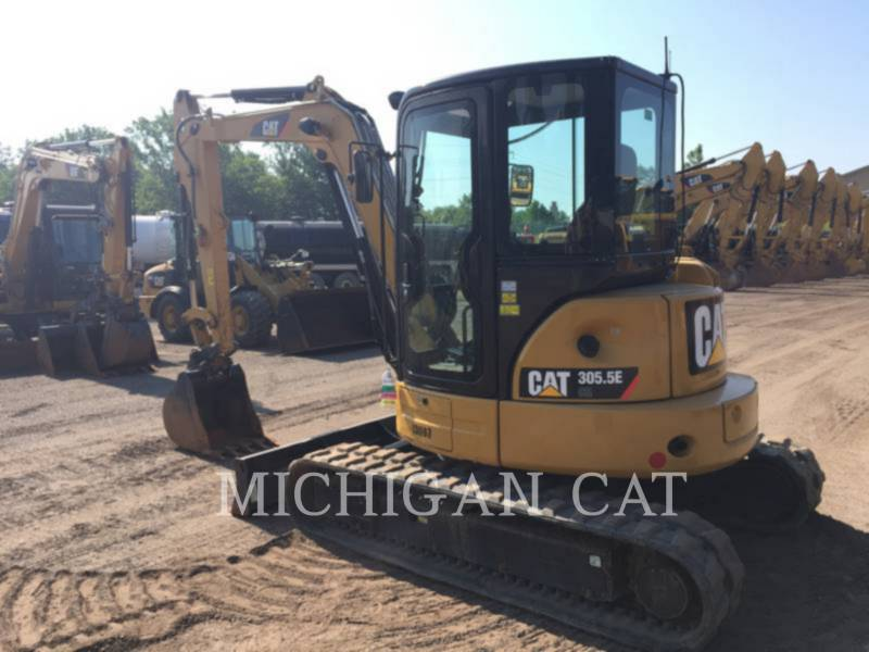 CATERPILLAR TRACK EXCAVATORS 305.5ECR AQ equipment  photo 3