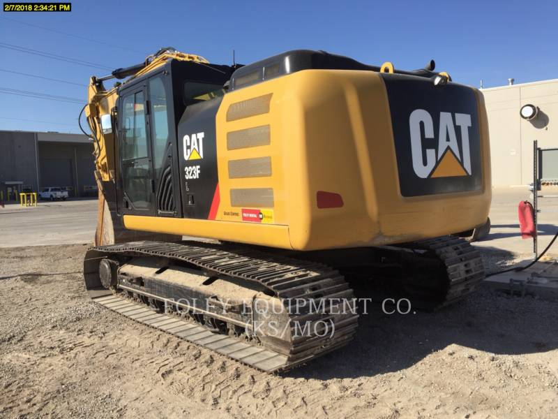 CATERPILLAR PELLES SUR CHAINES 323FL9 equipment  photo 3