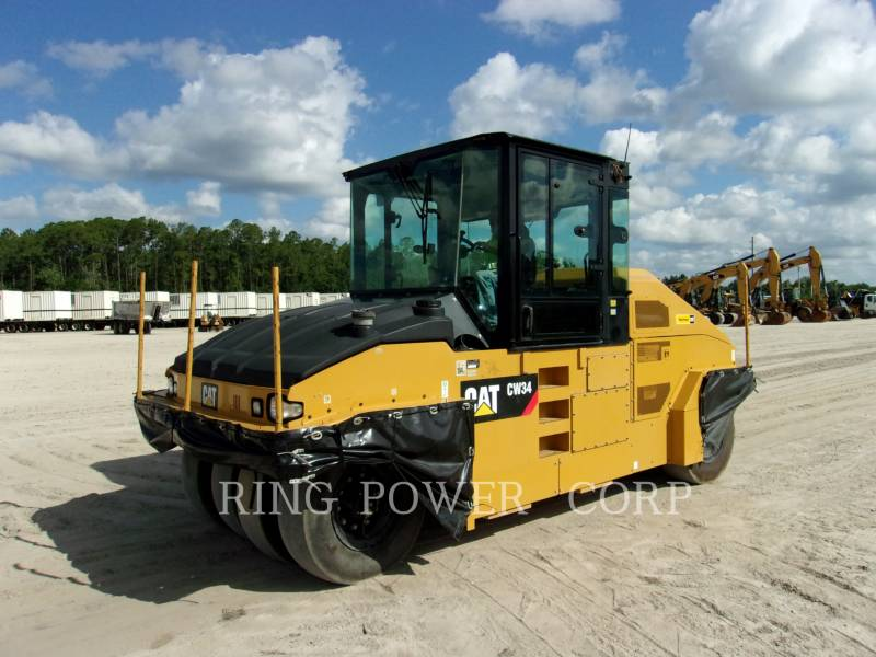 CATERPILLAR VIBRATORY DOUBLE DRUM ASPHALT CW34 equipment  photo 3