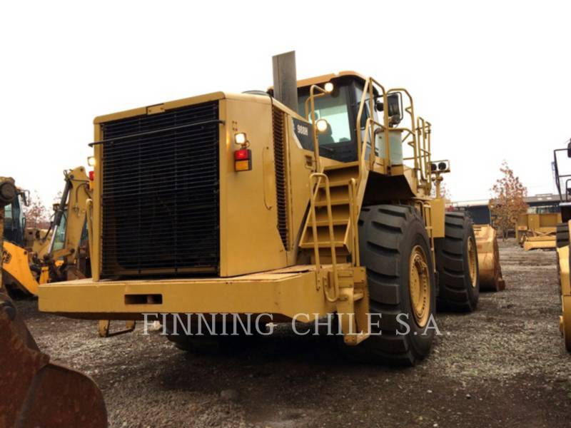CATERPILLAR BERGBAU-RADLADER 988H equipment  photo 3