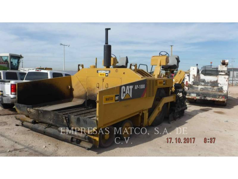 CATERPILLAR FINISSEURS AP-1000 equipment  photo 1