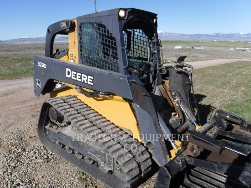 JOHN DEERE SKID STEER LOADERS 329D equipment  photo 1