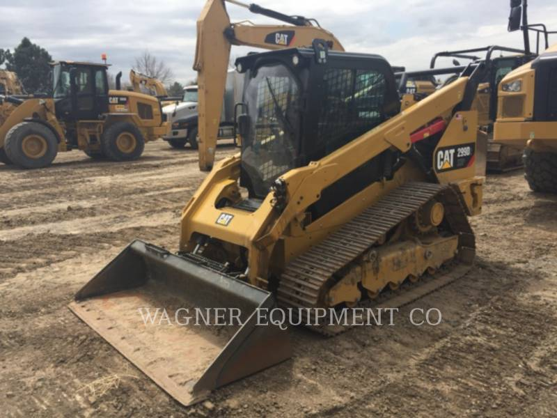 CATERPILLAR MINICARGADORAS 299D XHPHF equipment  photo 1