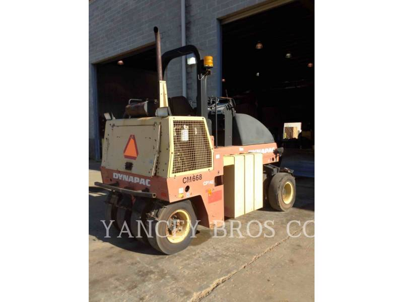 DYNAPAC COMPACTORS CP142 equipment  photo 4
