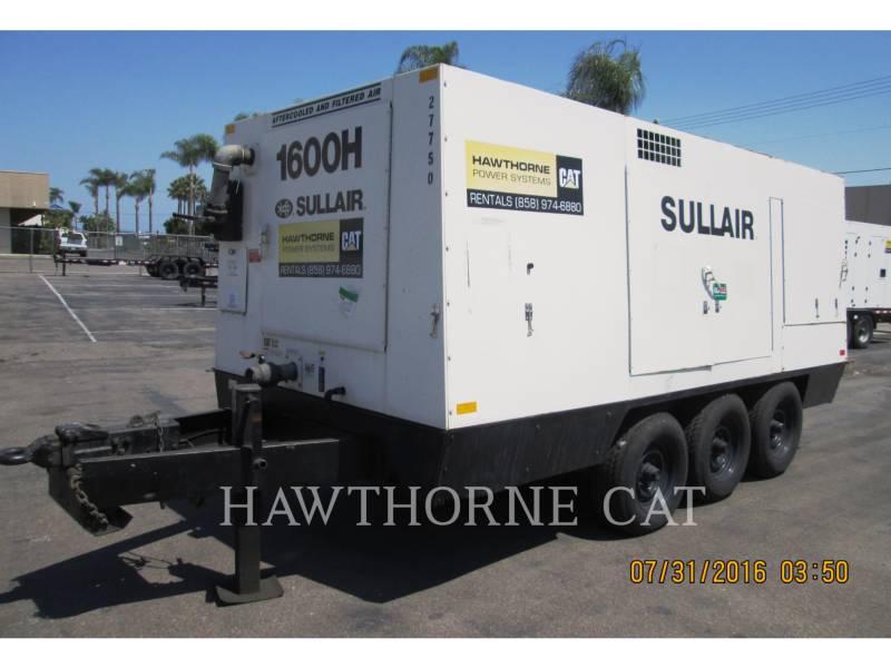 SULLAIR AIR COMPRESSOR 1600HF DTQ-CA3 equipment  photo 1