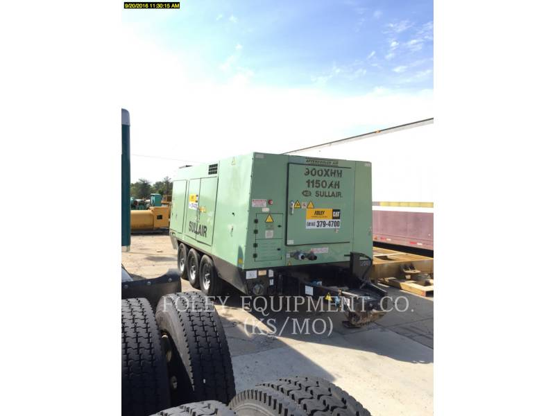 SULLAIR AIR COMPRESSOR (OBS) 1150XHA900 equipment  photo 3