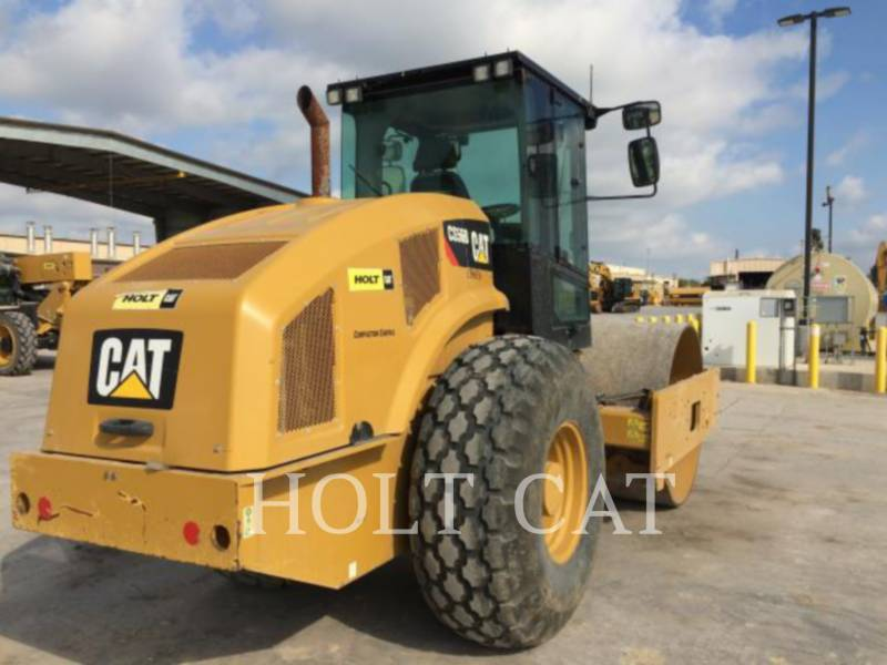 Caterpillar TAMBUR SIMPLU VIBRATOR PENTRU ASFALT CS56B CAB equipment  photo 4