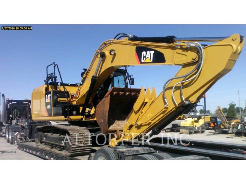 CATERPILLAR KETTEN-HYDRAULIKBAGGER 316EL CGC- equipment  photo 1