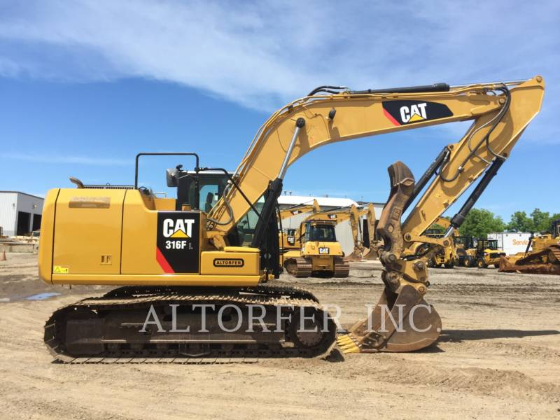 CATERPILLAR TRACK EXCAVATORS 316FL TH equipment  photo 5