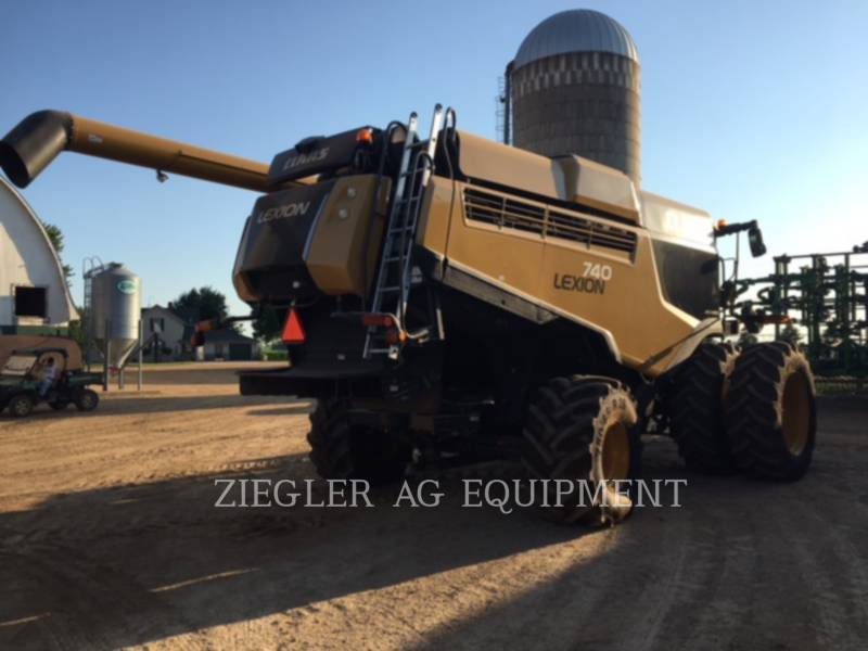 LEXION COMBINE KOMBAJNY 740 equipment  photo 1