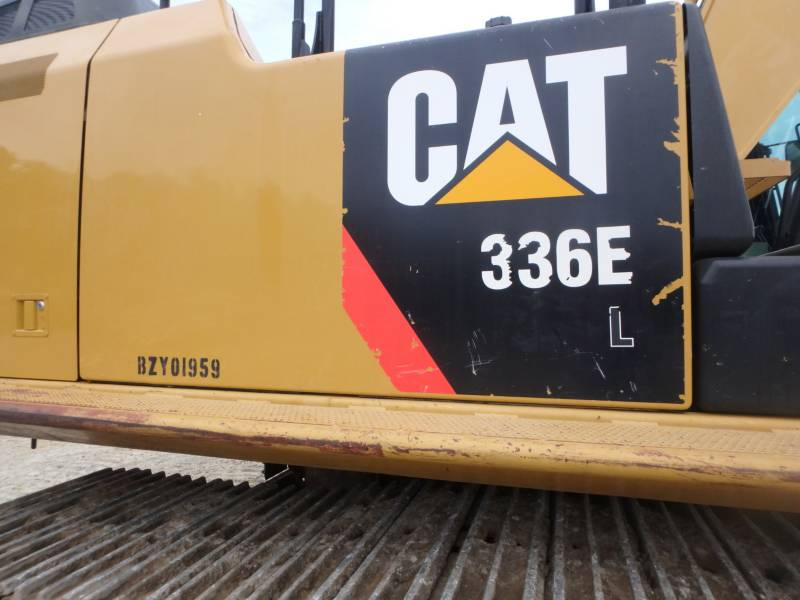 Caterpillar EXCAVATOARE PE ŞENILE 336EL equipment  photo 8