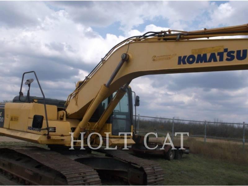 KOMATSU KETTEN-HYDRAULIKBAGGER PC200LC-8 equipment  photo 5