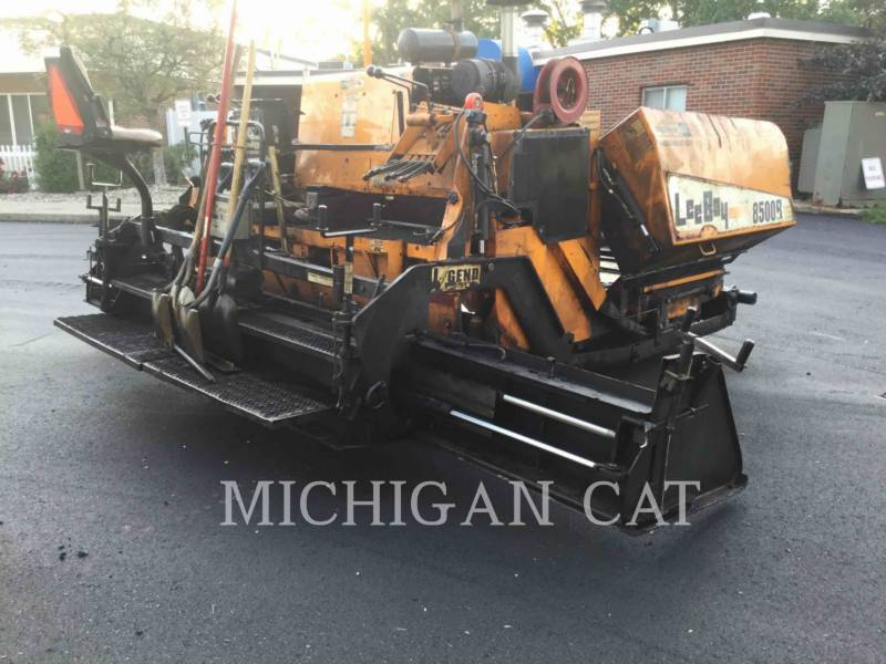 LEE-BOY ASPHALT PAVERS 8500B equipment  photo 4