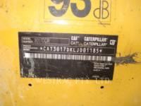 CATERPILLAR ESCAVATORI CINGOLATI 301.7DCR equipment  photo 11