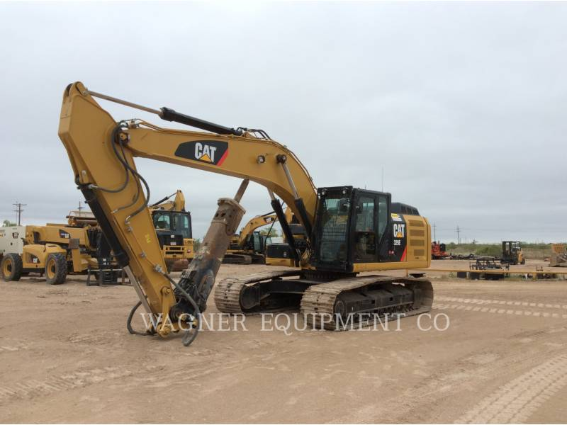 CATERPILLAR TRACK EXCAVATORS 329EL HMR equipment  photo 1