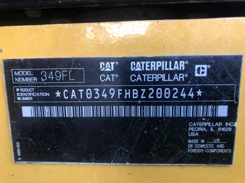 CATERPILLAR RUPSGRAAFMACHINES 349FL equipment  photo 24