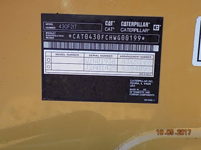 CATERPILLAR CHARGEUSES-PELLETEUSES 430F2IT equipment  photo 21