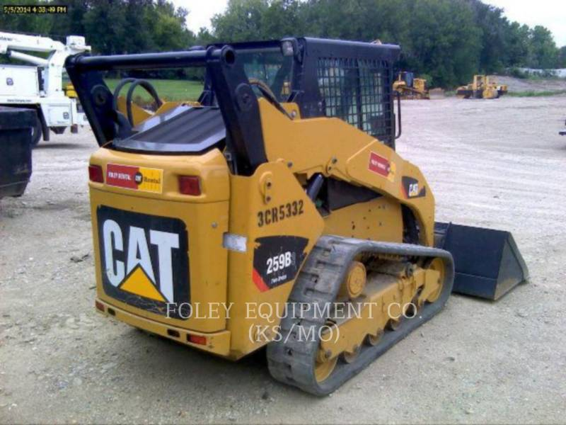 CATERPILLAR MINICARREGADEIRAS 259B3STD2C equipment  photo 3