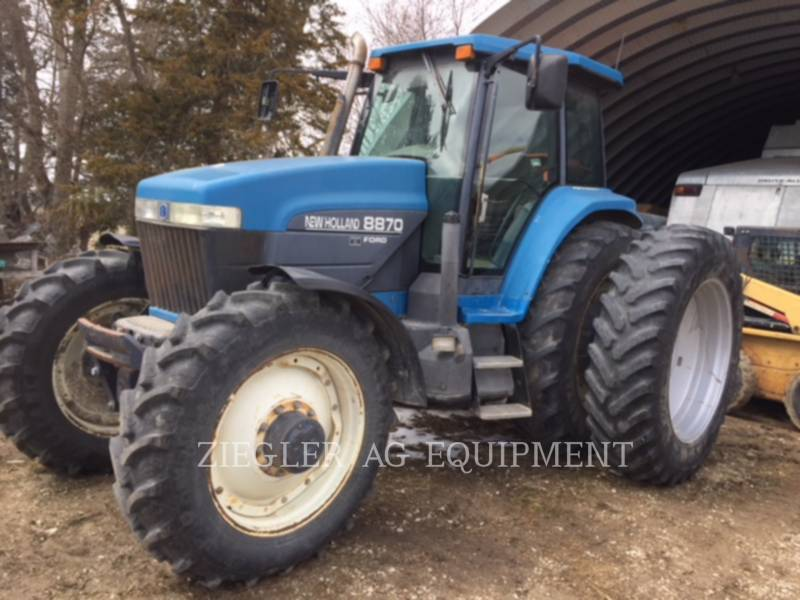 NEW HOLLAND LTD. TRATTORI AGRICOLI 8870 equipment  photo 1