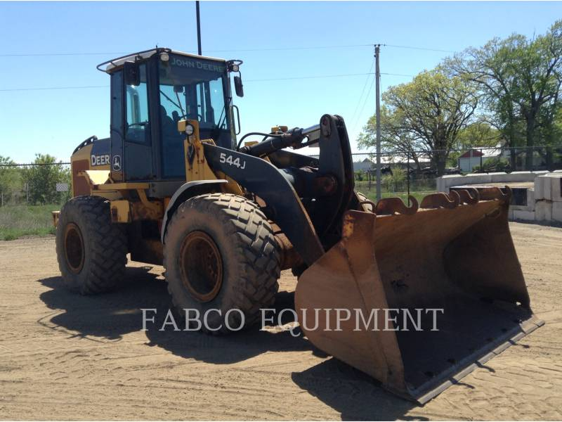 JOHN DEERE TRATORES DE RODAS 544J equipment  photo 2