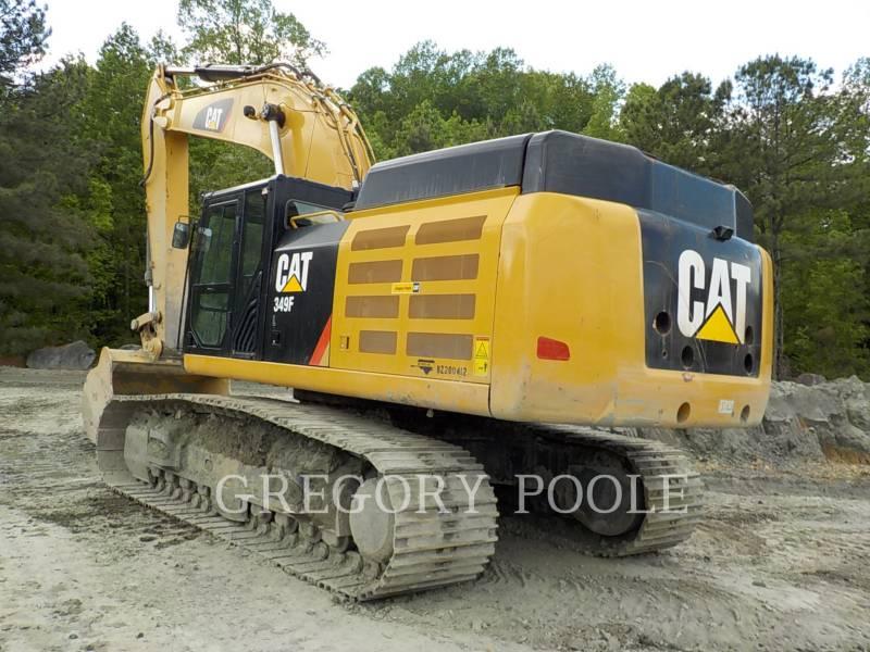 CATERPILLAR PELLES SUR CHAINES 349F L equipment  photo 7