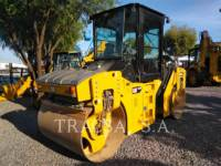 Equipment photo CATERPILLAR CB44B COMPATTATORE PER ASFALTO A DOPPIO TAMBURO VIBRANTE 1