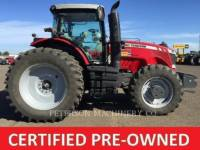 Equipment photo AGCO-MASSEY FERGUSON MF8670 TRACTEURS AGRICOLES 1