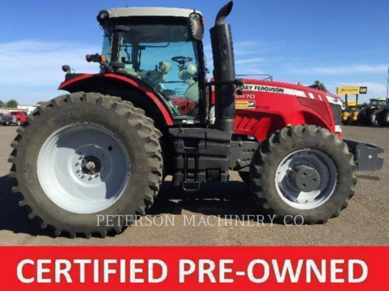 AGCO-MASSEY FERGUSON LANDWIRTSCHAFTSTRAKTOREN MF8670 equipment  photo 1