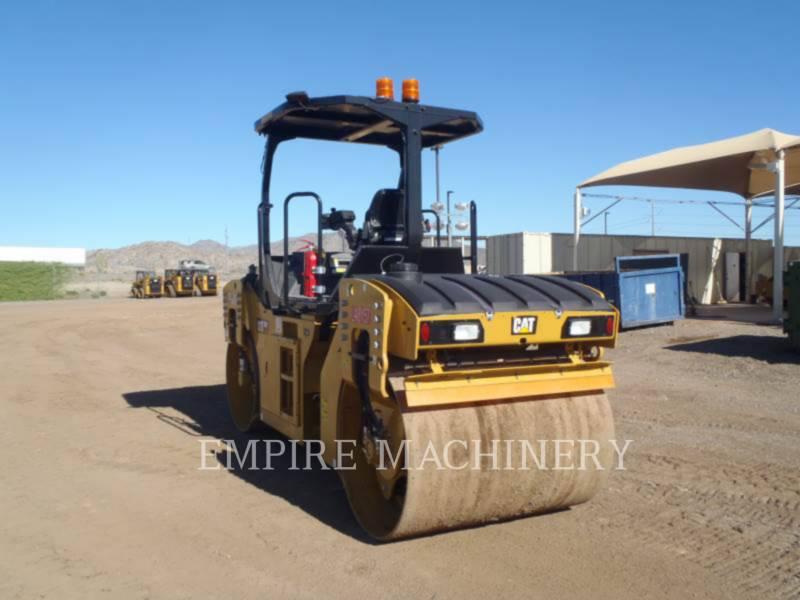CATERPILLAR TANDEMVIBRATIONSWALZE, ASPHALT CB7 equipment  photo 3