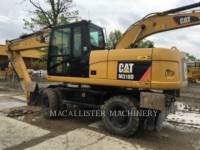 CATERPILLAR ESCAVADEIRAS DE RODAS M318D equipment  photo 4