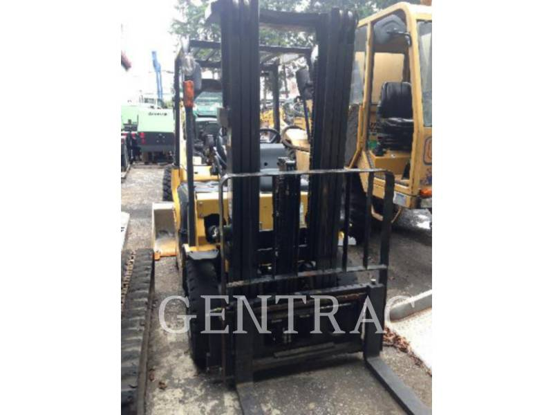 MITSUBISHI CATERPILLAR FORKLIFT MONTACARGAS GP25NM3 equipment  photo 1